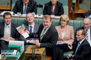 Minister Bruce Billson