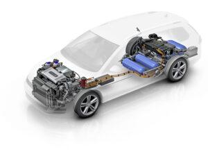 VW Golf HyMotion
