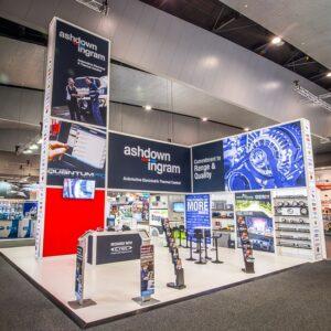 Ashdown-Ingram's Expo stand