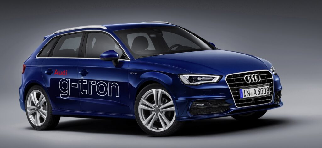 Natural gas powered Audi A3 Sportback g-tron