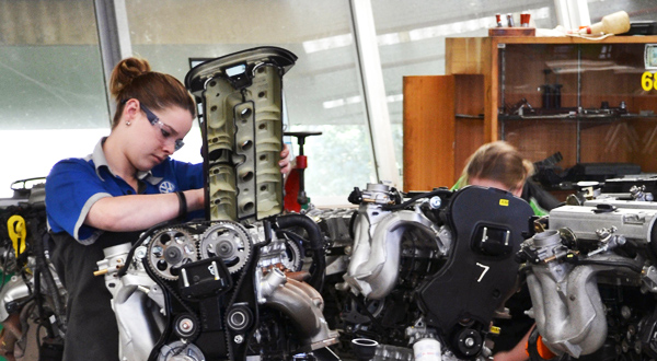 Women in automotive sector
