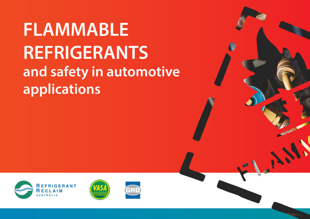 Flammable Refrigerants and_Safety_in_Automotive Applications cover