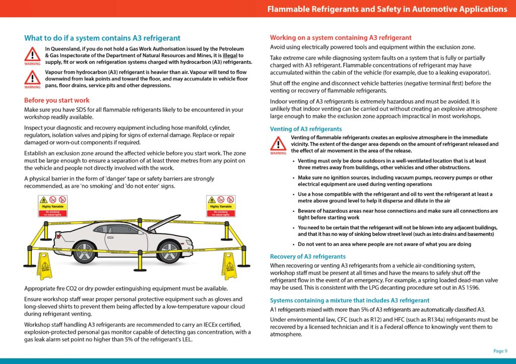 Flammable Refrigerants and Safety in Automotive Applications cover