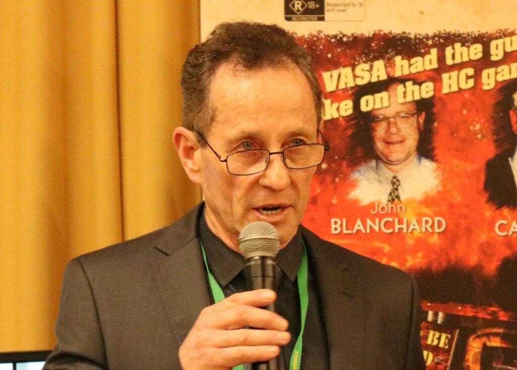 VASA President Ian Stangroome