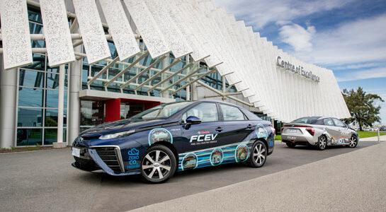 Toyota establishes hydrogen foothold in Australia