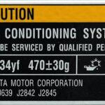 R1234yf label
