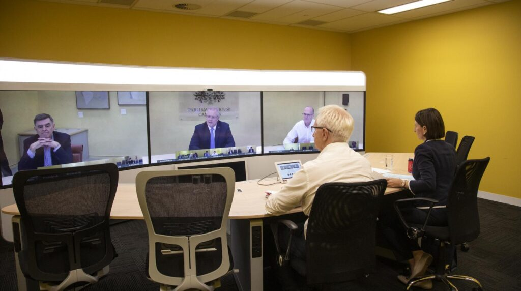 Australian National Cabinet meeting