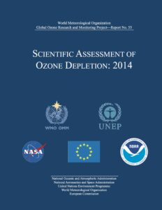 Scientific Assessment of Ozone Depletion report