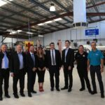 Federal Assistant Treasurer Michael Sukkar with automotive repairers