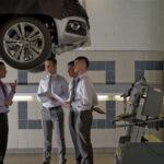 Apprentice automotive technicians