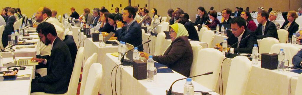 OWEG meeting in Dubai Photo: IISD/ENB www.iisd.ca/ozone/oewg36-resumed-mop27/29oct.htm