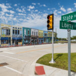 University of Michigan Mcity autonomous vehicle test facility