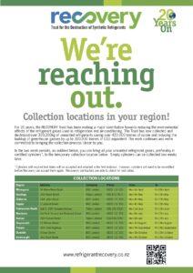 NZ refrigerant recovery flyer