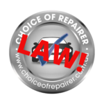 choice of repairer campaign logo
