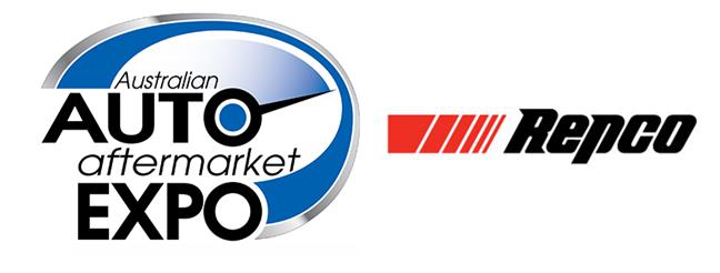 Auto Aftermarket Expo and Repco logos