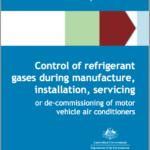 Australian automotive code of practice