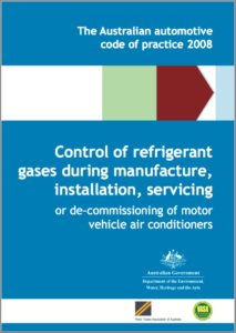Australian Automotive code of practice