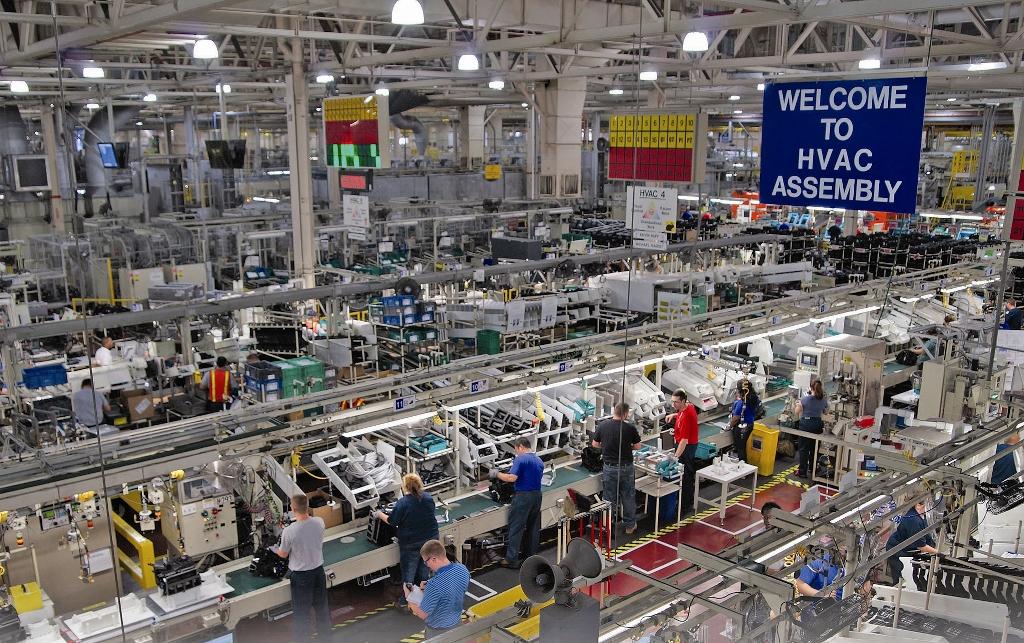 Denso HVAC factory