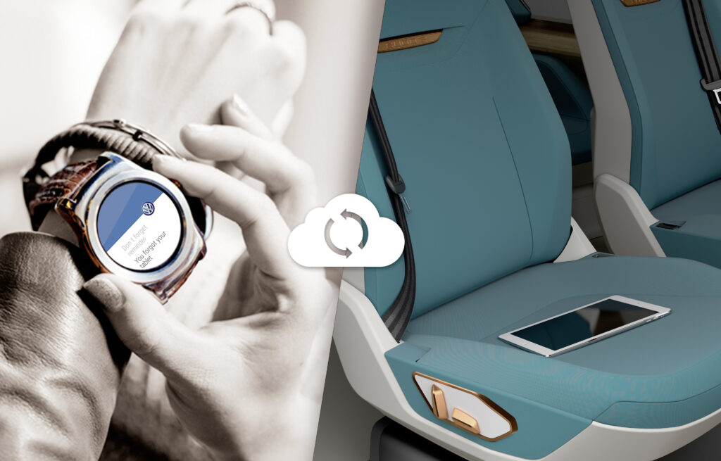 Volkswagen Budd-e concept showcases smartwatch integration