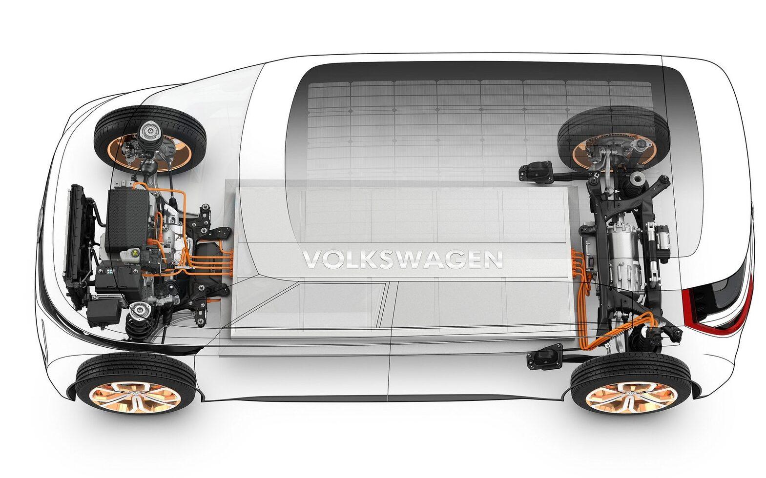 Volkswagen Budd-E conceptVolkswagen Budd-E concept cutaway