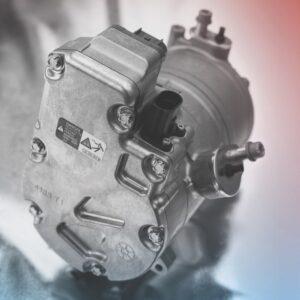 Audi Q7 e-tron heat pump compressor