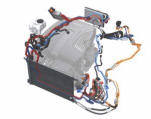 Audi Q7 e-tron refrigerant circuit