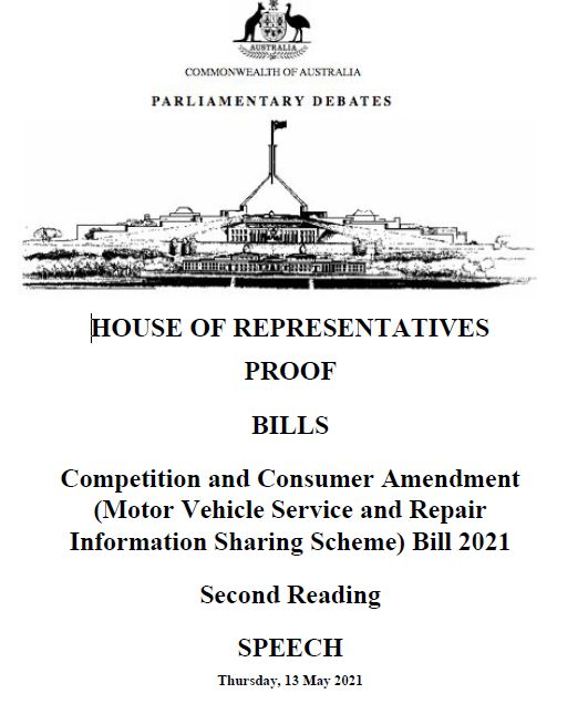 repair info sharing bill