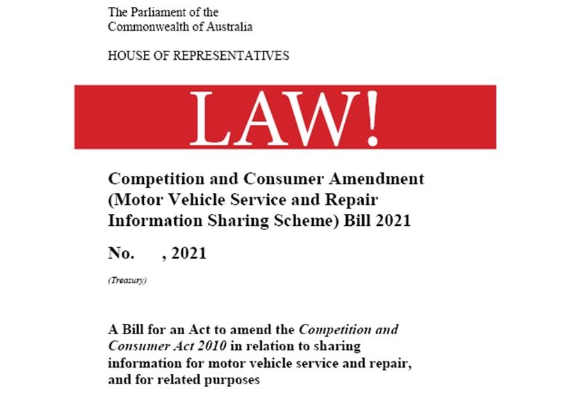 Repair info sharing law