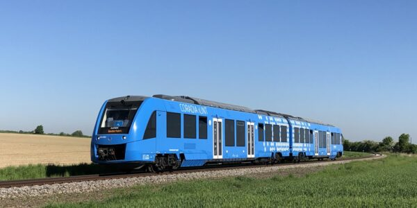 Decarbonising non-electrified railways with hydrogen trains