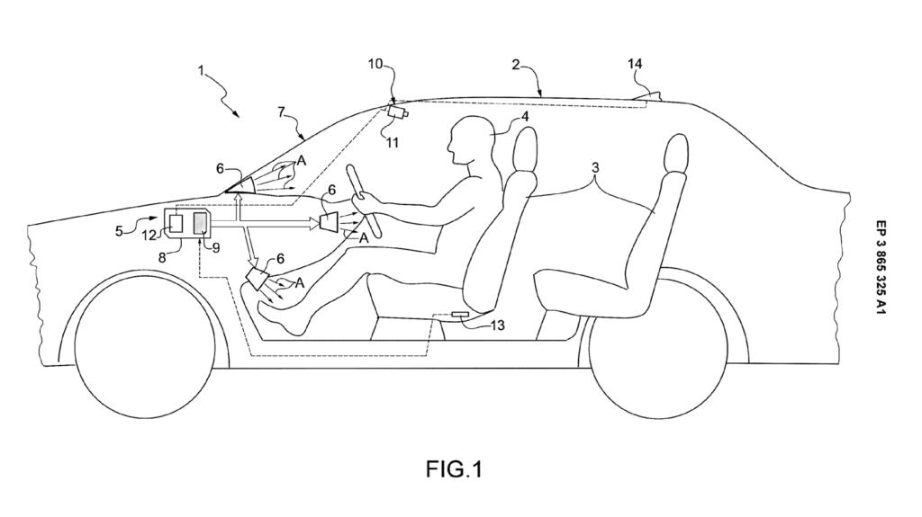 Ferrari climate control patent