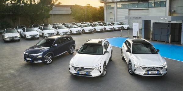Hydrogen-powered Hyundais for ACT