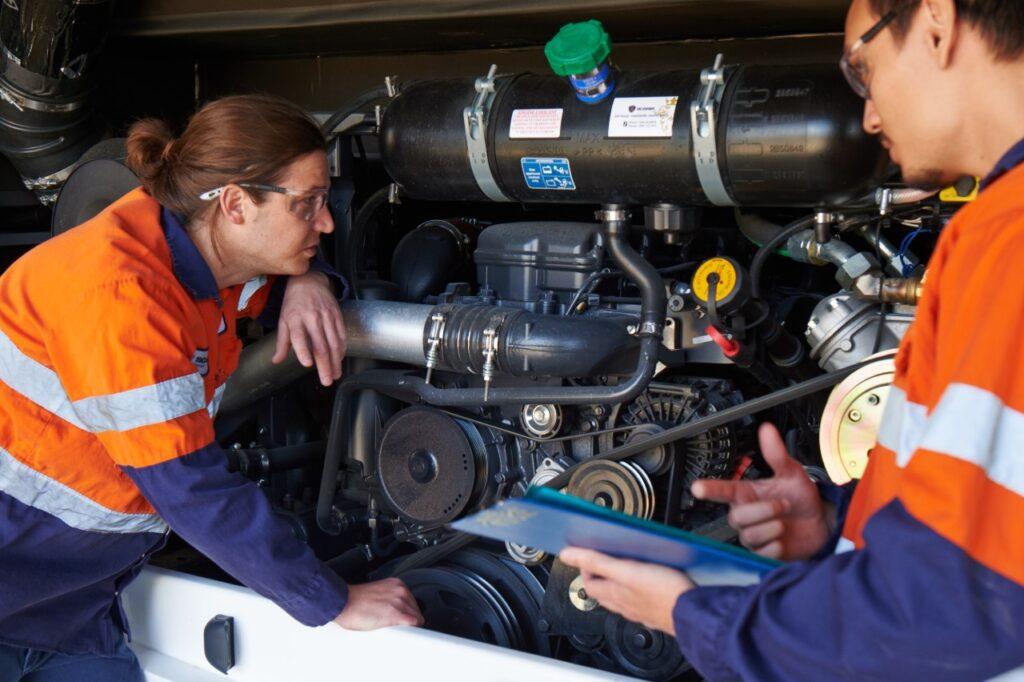 Scania training